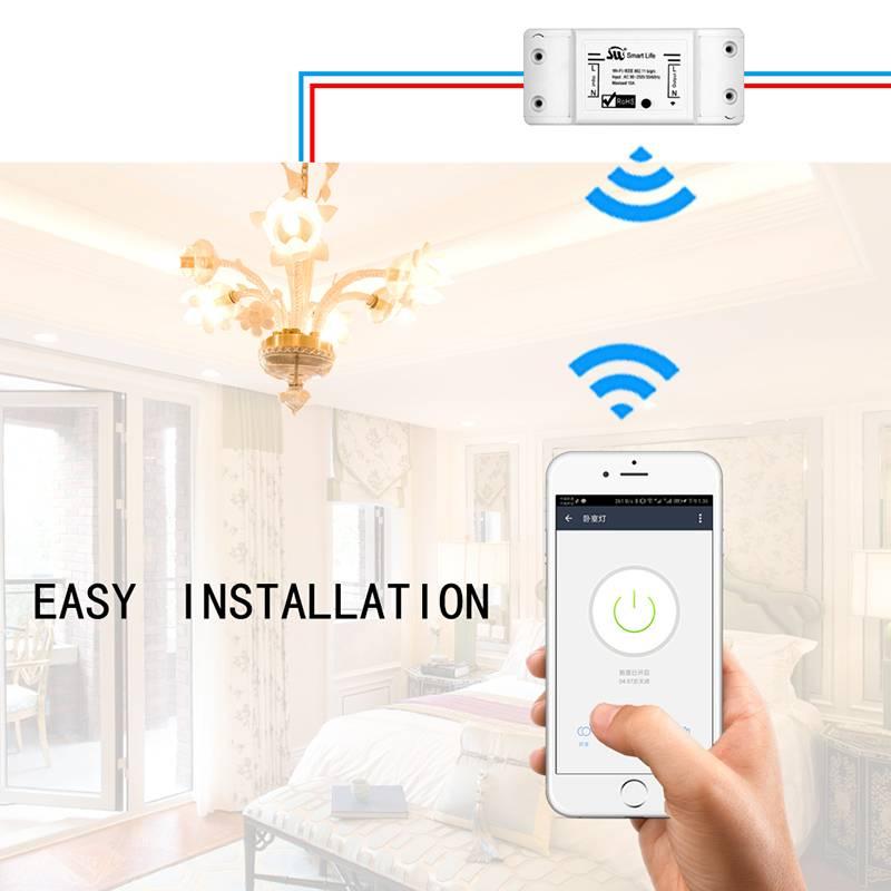 Что такое Wi-Fi выключатель света и как он работает