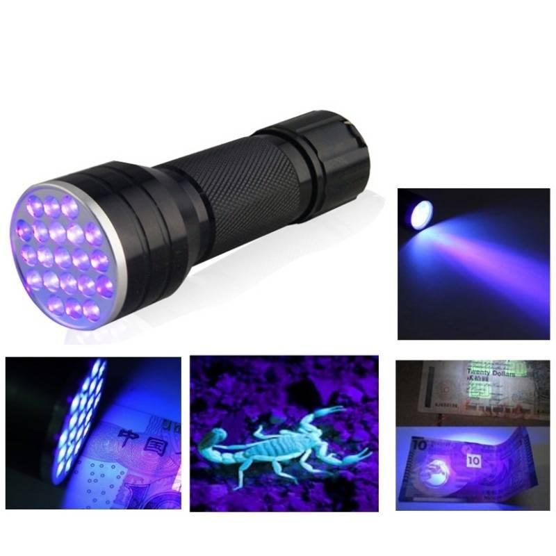 Как сделать ультрафиолетовый фонарик (в домашних условиях)