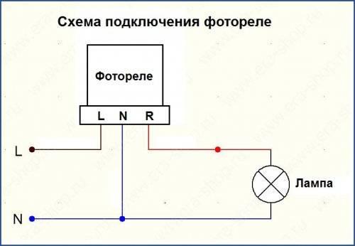 Фотореле для уличного освещения: принцип действия, схема