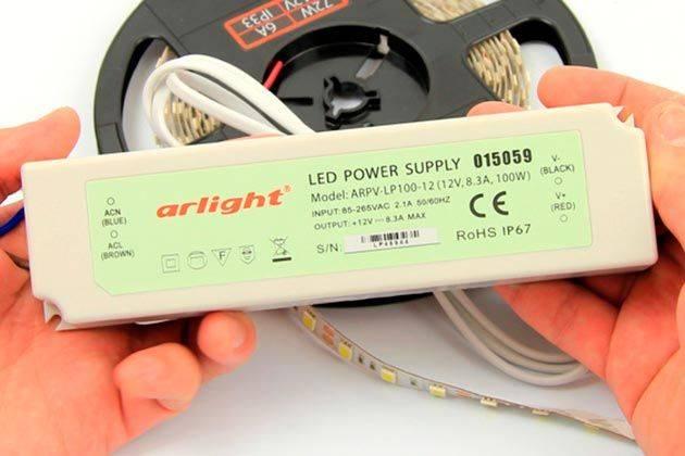 Как купить хороший блок питания для светодиодной ленты – секреты выбора не по мощности.