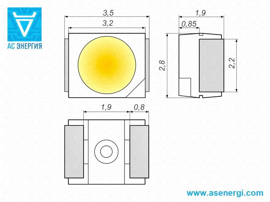 Характеристики и отличия светодиодных лент smd 3528.