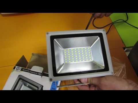 Причины мигания светодиодного прожектора