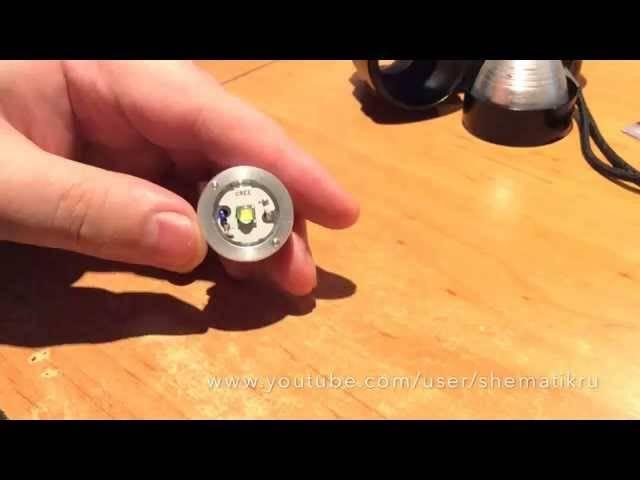 Tinyfl — драйвер фонарика на микроконтроллере / хабр