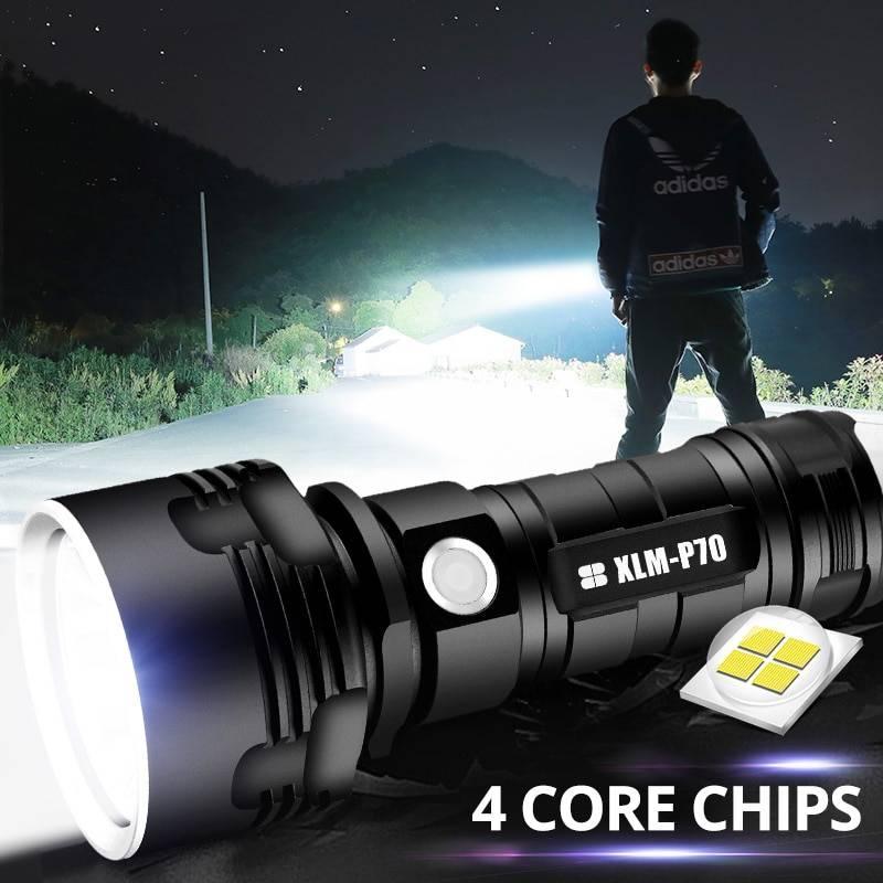 Выбираем мощный светодиодный фонарь или делаем его своими руками