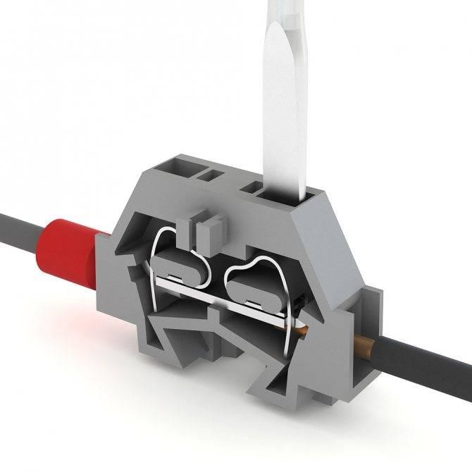 Клеммные колодки (клеммники) для соединения проводов