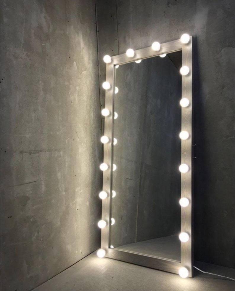 Зеркало с подсветкой своими руками, инструкция с фото и видео