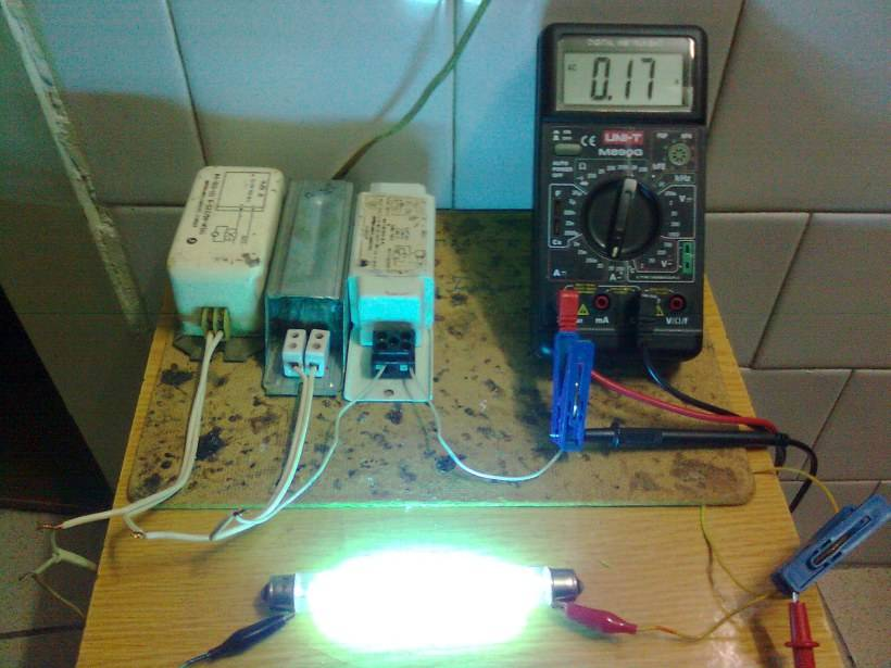 Как проверить лампу дневного света мультиметром в домашних условиях