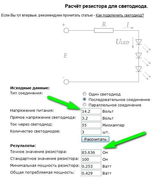 Как узнать ток и напряжение светодиода - практические и теоретические методы