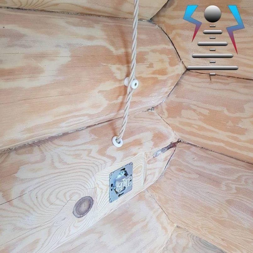 Проводка в деревянном доме: выбор провода и правила безопасности, схема монтажа