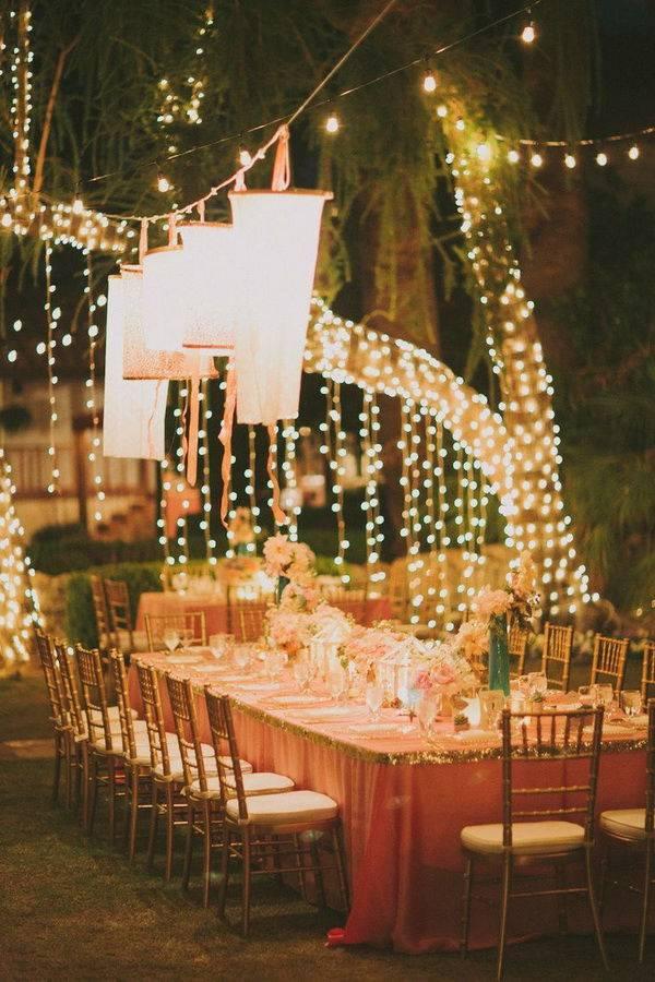 Оформление зала на свадьбу: топ идей для праздника мечты
