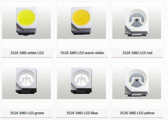 Обзор светодиода smd 2835 — характеристики и отличие от 5050, 3528