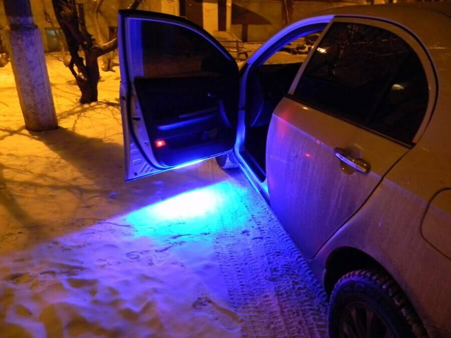 Как подключить светодиодную ленту в машине: выполняем легкий тюнинг своими руками