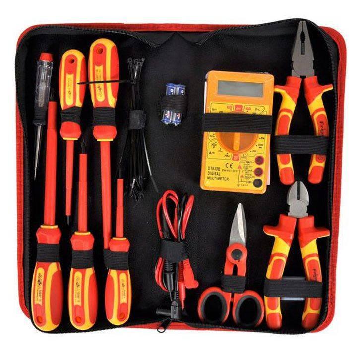 Полный список инструментов электрика