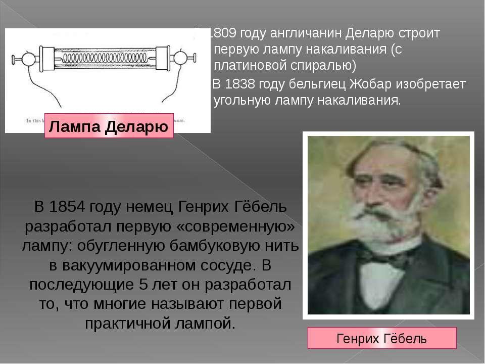 Кто изобрел лампу накаливания: история открытия, первая лампа