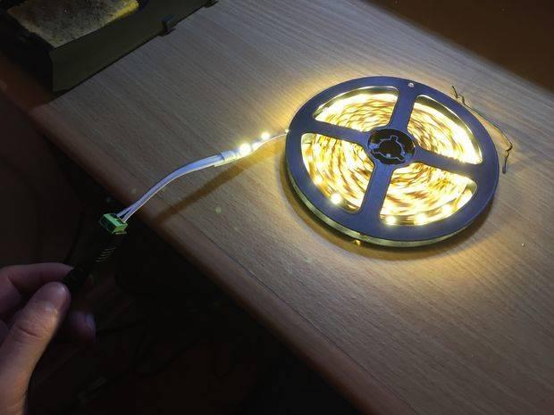 Делаем подсветку штор светодиодной лентой своими руками
