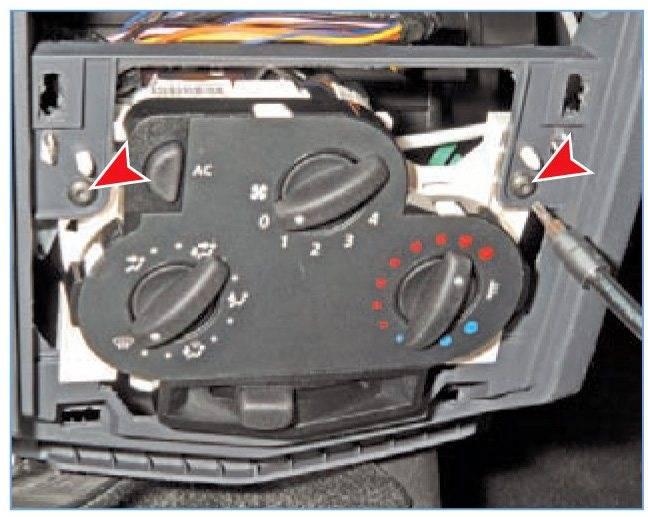 Замена лампы подсветки кнопки стеклоподъемника рено логан renault logan