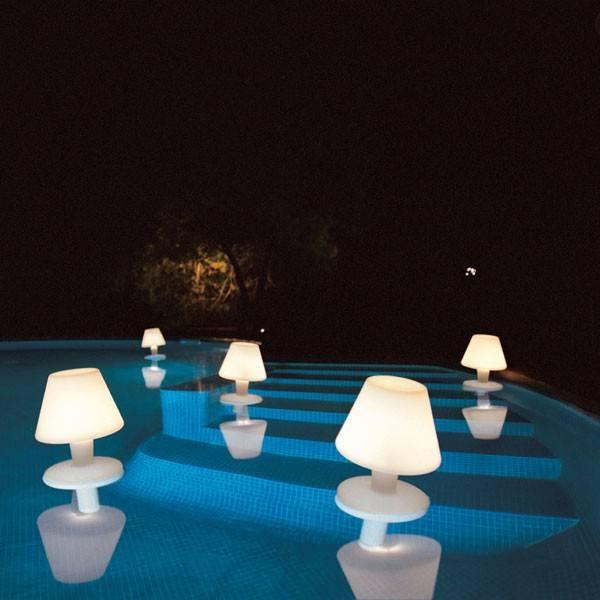 Подсветка для бассейна: светильники, требования
