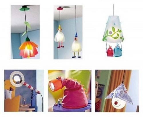 Светильник своими руками: мастер-класс декора и креативные идеи оформления светильников (105 фото)