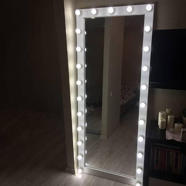 Гримерное зеркало своими руками - 20 секретов. пошаговая инструкция изготовления зеркала для макияжа.