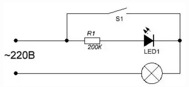 Как подключить светодиод к 220в: схемы, ошибки, нюансы, видео