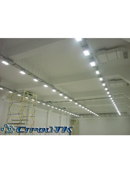 Расчет освещения светодиодными (led) светильниками: пример