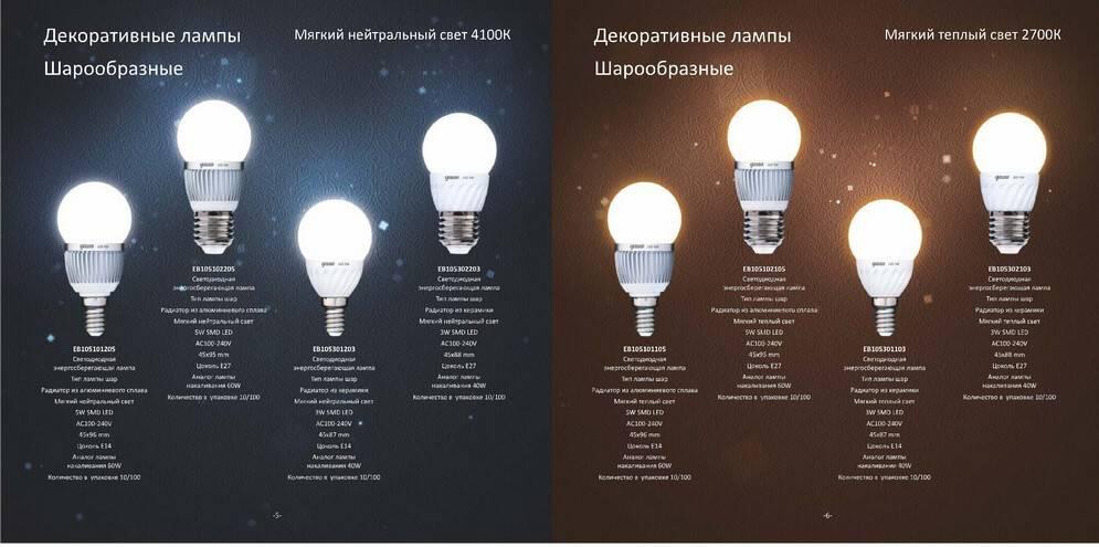 Всё о светодиодных лампах - плюсы и минусы, конструкция, технические характеристики.