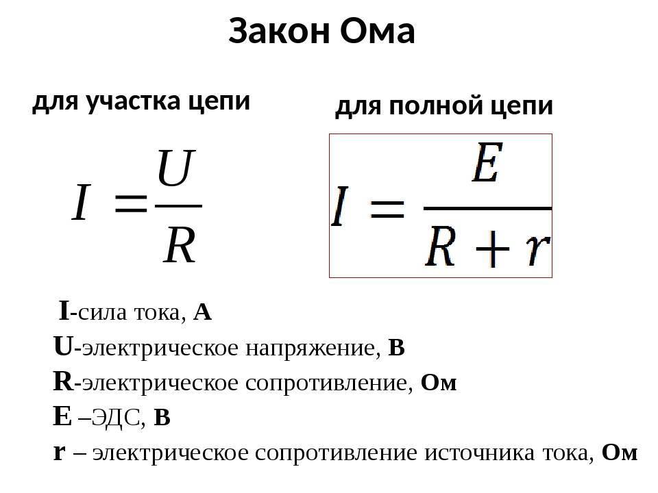 Закон ома для участка цепи. определение, формула расчета, калькулятор | joyta.ru