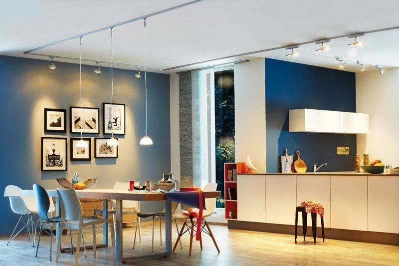 Трековые светильники в интерьере: разновидности и преимущества   дом мечты