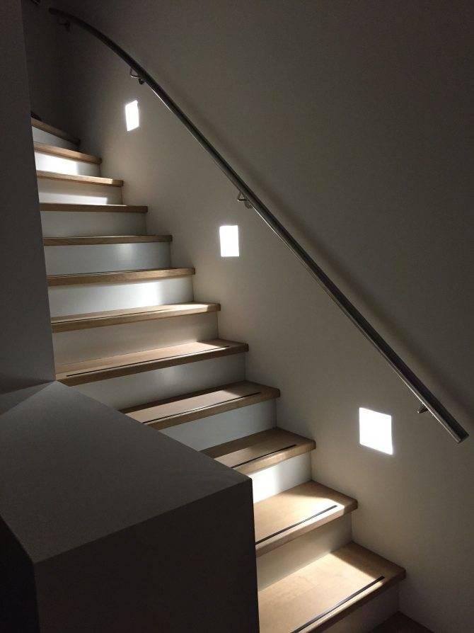 Правильное освещение лестницы   illumon.ru