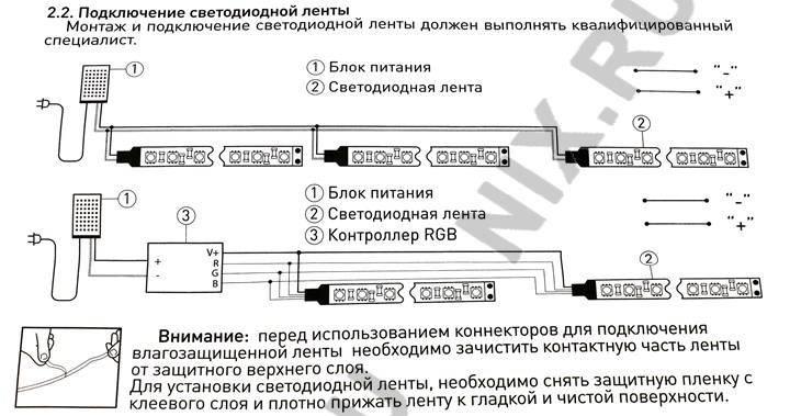Как подобрать трансформатор для светодиодной ленты на 12 и 24 вольт: расчёты и примеры