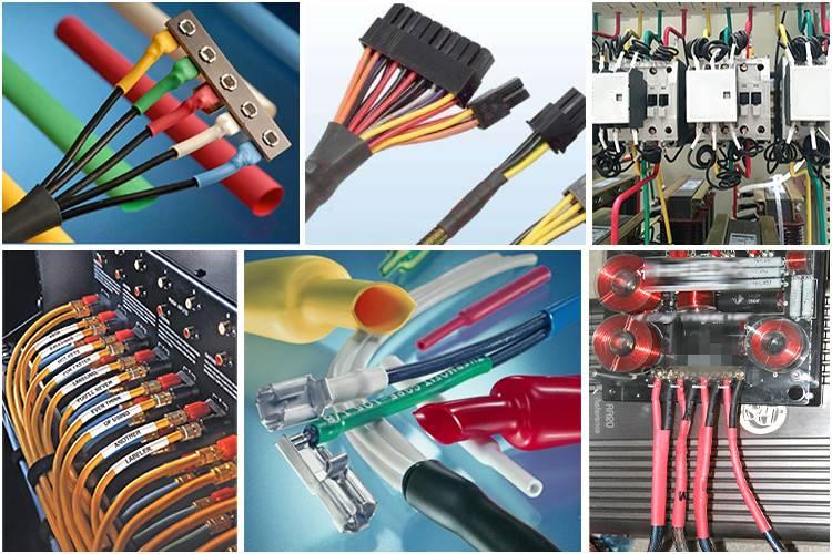 Термоусадка для проводов: размеры, характеристики