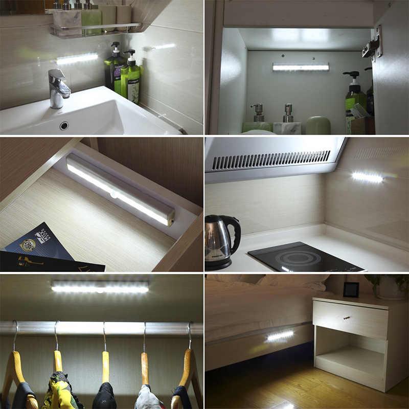 Светодиодные светильники для кухни под шкафы – виды, плюсы и минусы