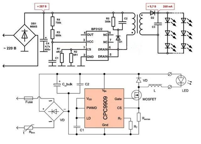 Почему мигает светодиодный прожектор: определяем причины и ремонтируем