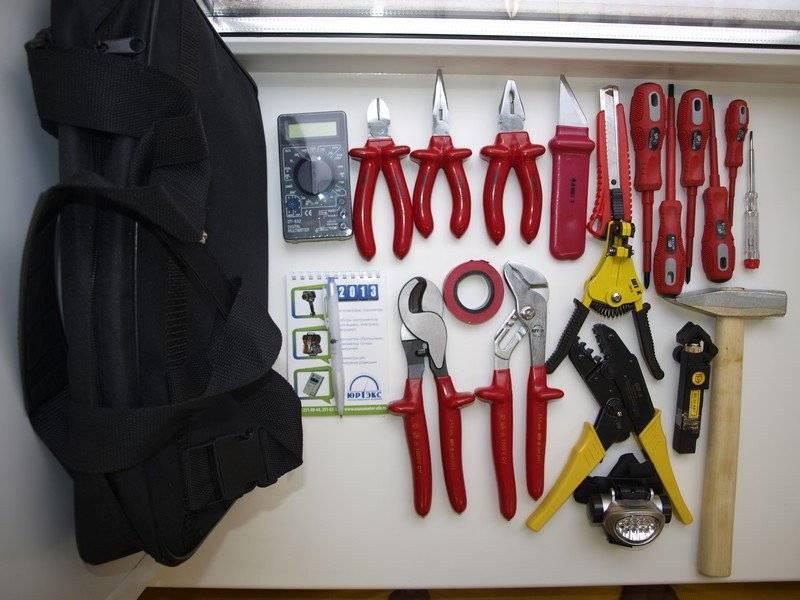 Какой перечень инструментов электрика необходим? ручной профессиональный для дома и стройки - список +видео - domsdelat.ru