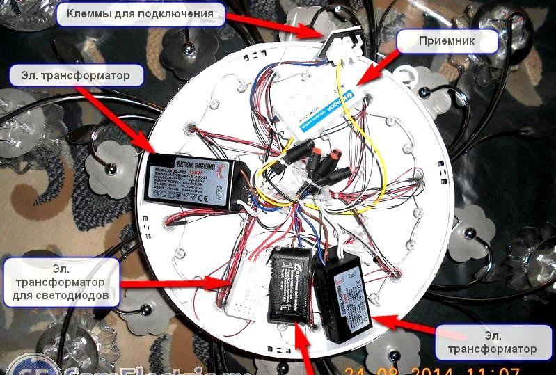 Не горят светодиоды в люстре с пультом. ремонт своими руками – самэлектрик.ру