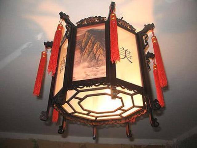 Что собой представляют потолочные светильники в японском стиле?