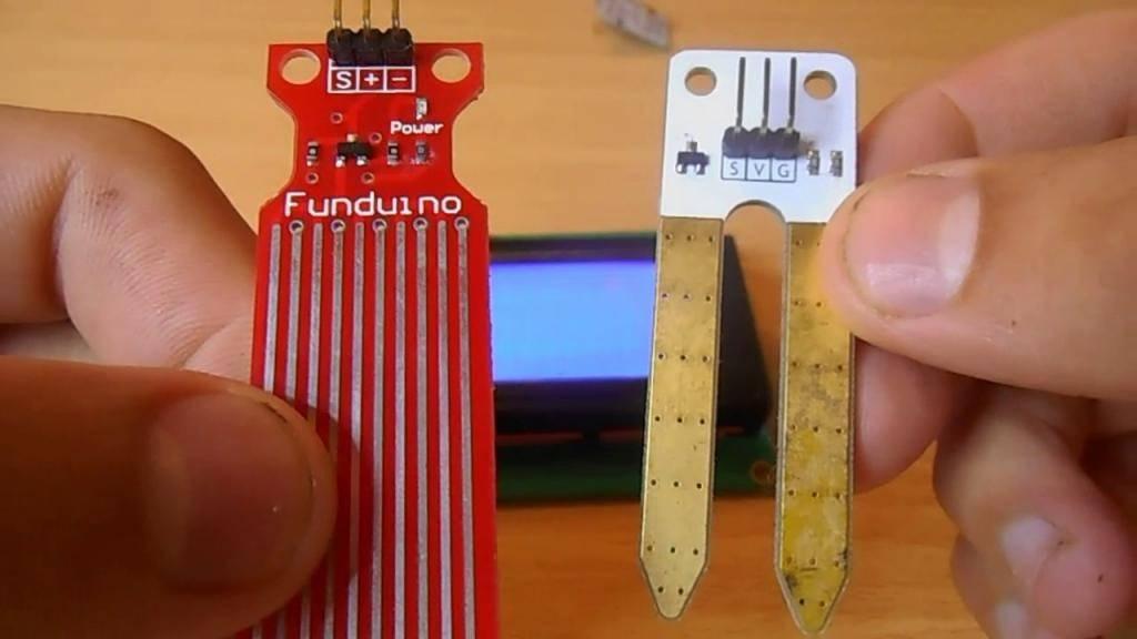 Как работает датчик влажности почвы, и его взаимодействие с arduino