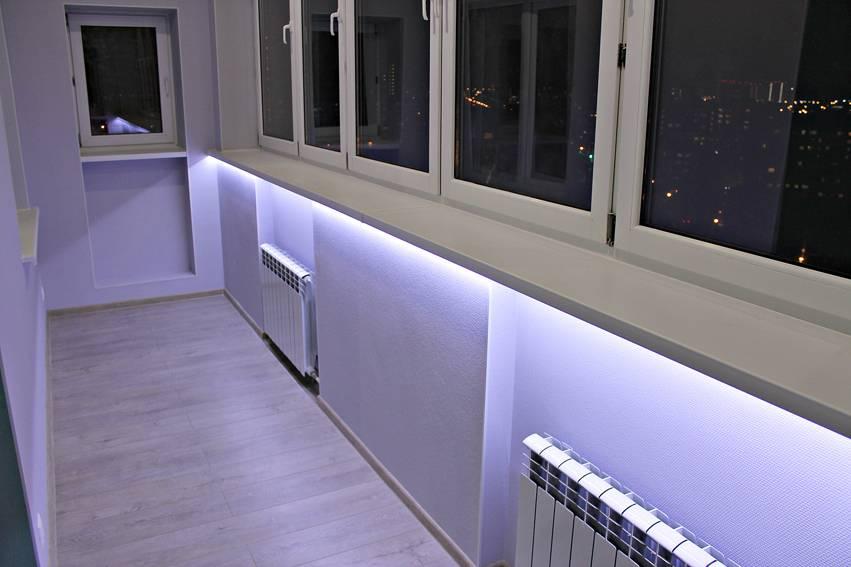Какие светильники установить на балконе и лоджии