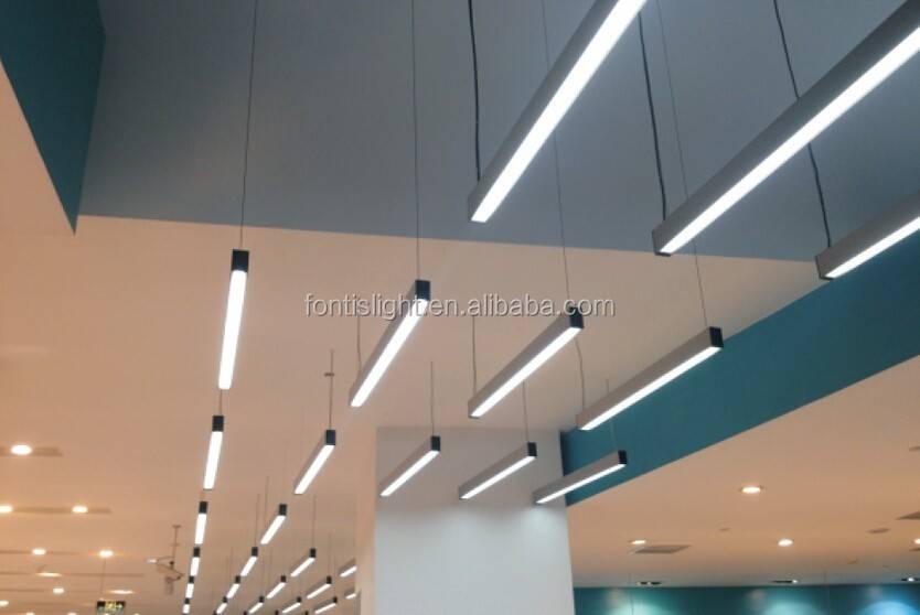 Линейные светодиодные светильники: обзор, фото в интерьере | 1posvetu.ru