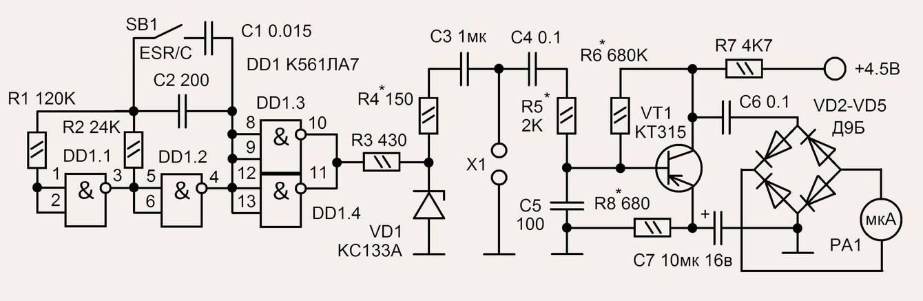 Как проверить электролитический конденсатор большой емкости - морской флот