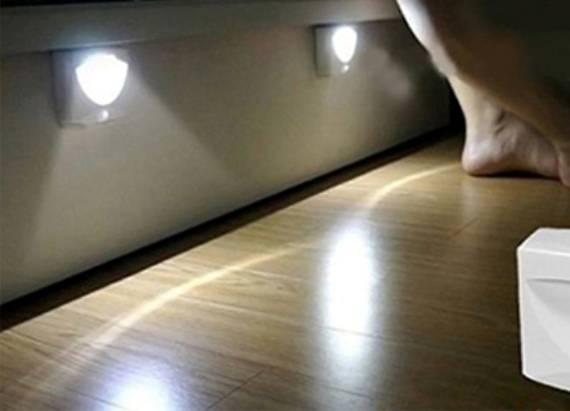 Светодиодная подсветка пола — плюсы и минусы. 3 варианта монтажа.