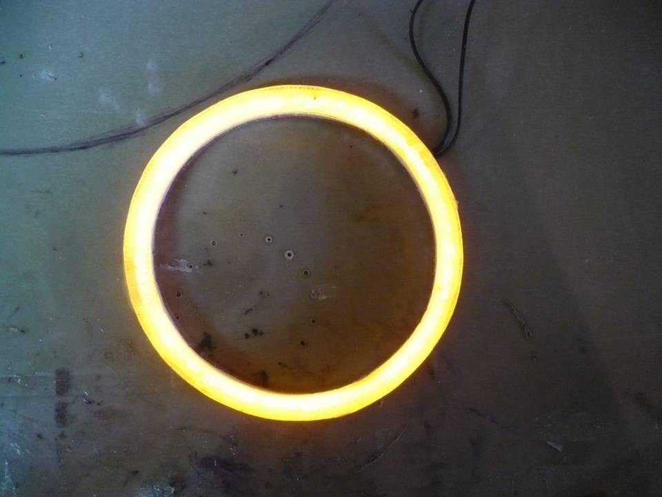 Ангельские глазки на ваз 2114: как установить и сделать своими руками - led свет
