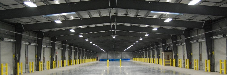Производственное освещение: какие требования предъявляются, пример в цеху предприятия