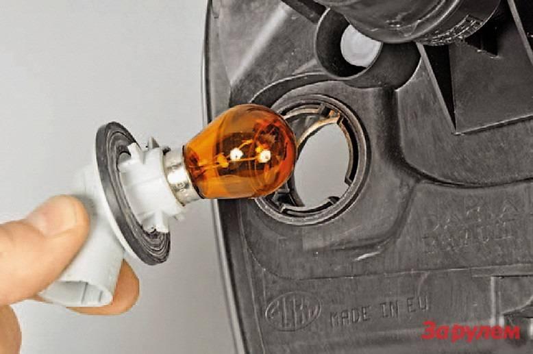 Замена лампочки габаритных огней рено сандеро степвей — теория и практика