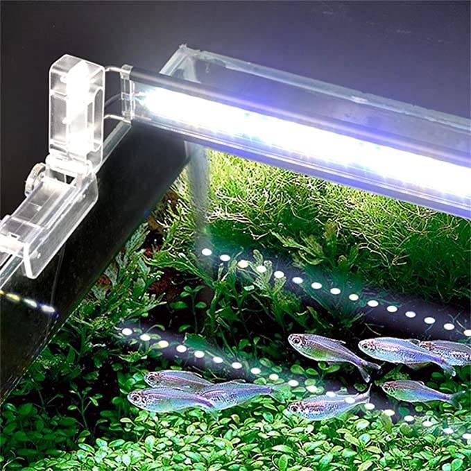 Как заменить люминесцентную лампу освещения аквариума в крышке aquael светодиодной