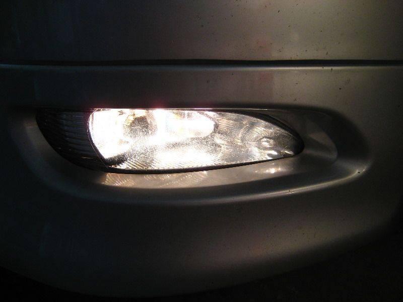 Какие лампы стоят в противотуманках ford focus 3 и как их поменять