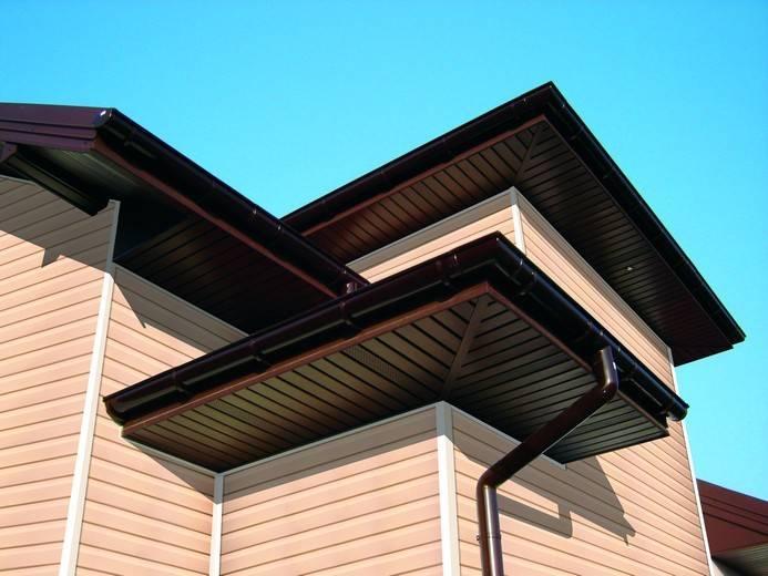 Монтаж софитов на карниз крыши - виды, расчет, инструкция по установке