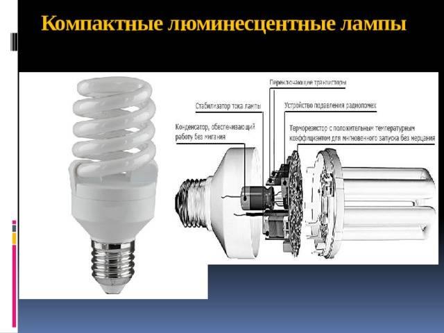 Клл: компактная люминесцетная лампа (энергосберегающая)