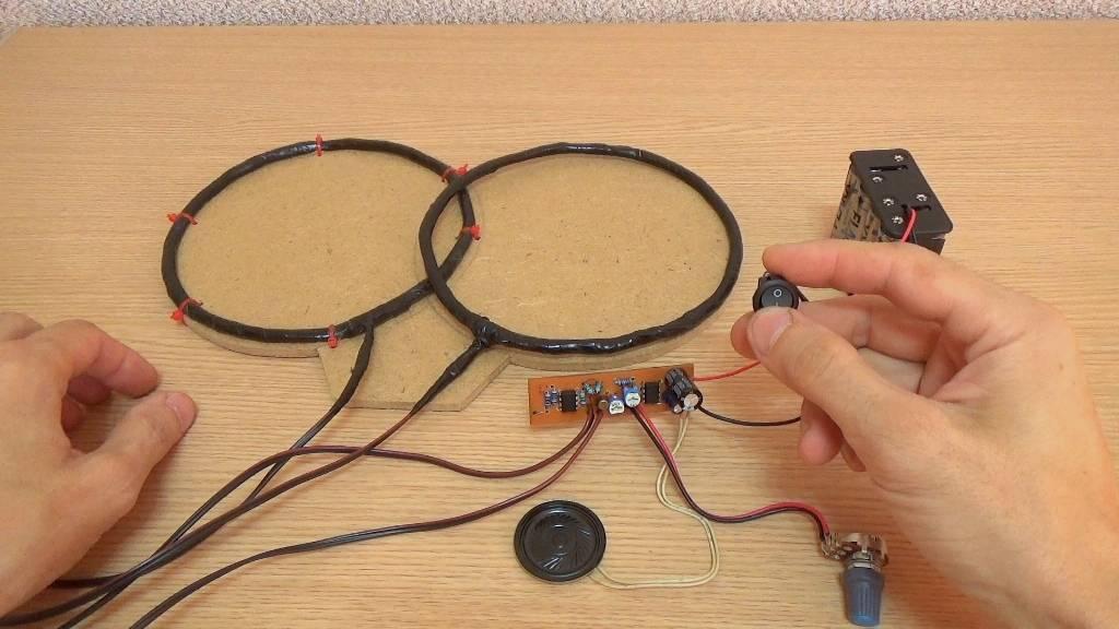Металлоискатель своими руками: как сделать в домашних условиях