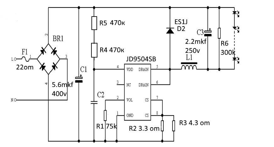 Правила подбора драйвера светодиодной лампы: виды, назначение + подключение